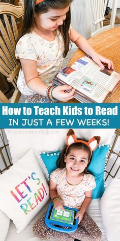 10 Ways to Teach Kids to Read at Home