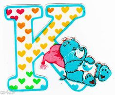 ❤️Care Bears and Friends ~ The Letter K