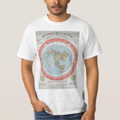 """Antique """"AE"""" flat Earth map 1 T-Shirt Rare old """"standard map of the World"""" . Clearly displaying the earth as flat. Vintage Recipes, Vintage Food, Food T, Flat Earth, Shirt Style, Fitness Models, Shirt Designs, Map, Antiques"""