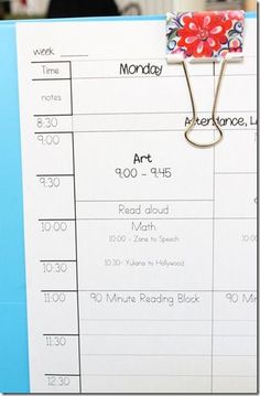 I really like her Lesson Plan template... And it's free to try! SO doing this this summer!: