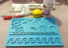 How to use the Wilton Fondant and Gum Paste Silicone Mold, Sea Life
