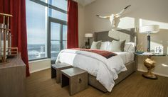 Modern home design. Barclay Butera Interiors. Modern bedroom, Utah bedroom, bedroom room design decor inspiration, city bedroom
