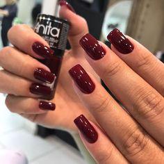 Here are the 10 most popular nail polish colors at OPI - My Nails Cute Nails, Pretty Nails, Nails 2017, Square Acrylic Nails, Classic Nails, Nagel Gel, Nail Polish Colors, Gorgeous Nails, Red Nails