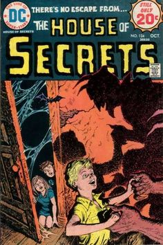 the HOUSE of SECRETS #124 Bat - Dc - 20 Cents - October - Devil Horns