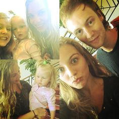Lux and tom with some fans