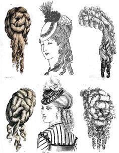 Peachy Victorian Era Hairstyles Victorian Era And Hairstyles On Pinterest Short Hairstyles Gunalazisus