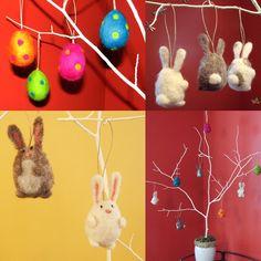 Felting Friends: Free Easter Tutorial & Fun Pics!