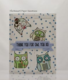 The Card Concept #95 {Owl Cherish Our Friendship}
