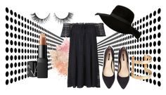 """""""Black Spring"""" by fashionqseries ❤ liked on Polyvore featuring Topshop, Forever 21, H&M, Rimini and NARS Cosmetics"""