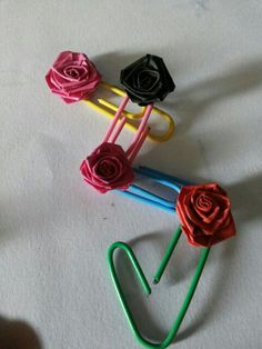 Quilling bookmarks ...