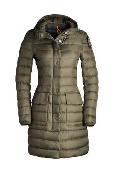 Parajumpers Chrissy 6 Down Jacket Women's Army