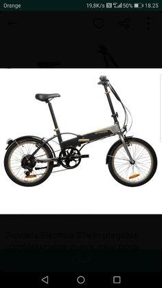 Bicicleta electrica plegable de segunda mano por 150 € en Barcelona en WALLAPOP Barcelona, Bicycle, Vehicles, Folding Electric Bike, Skateboards, Bicycles, Bicycle Kick, Car, Bike