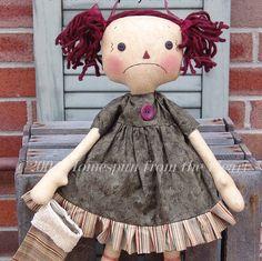 Christmas+raggedy+doll+pattern+sad+Raggedy+by+CindysHomespun