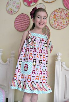 You searched for knot dress - The Cottage Mama Uses the summer picnic dress pattern I have already downloaded