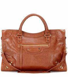 Classic City leather tote | Balenciaga