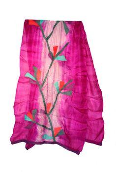 SS03 Celebration Silk Scarves, Tie Dye Skirt, Celebration, Wool, Elegant, Skirts, Collection, Fashion, Classy