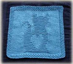 Kitty Love Washcloth