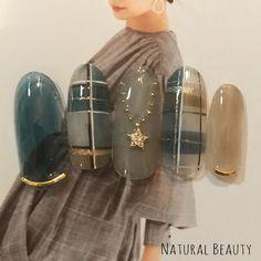 Plaid Nail Art, Star Nail Art, Plaid Nails, Star Nails, 3d Nail Art, Nail Arts, Winter Nail Art, Autumn Nails, Winter Nails