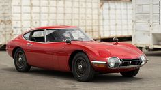 Most Valuable Car Collection To Be Auctioned  (including this 1967 toyota 2000 gt)