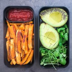 bento with delicious fries and avocado This combo is amazing add salad and tomato sauce Perfect for a busy day By Justine Taulin - France (@pastryandtravel) • Instagram photos and videos