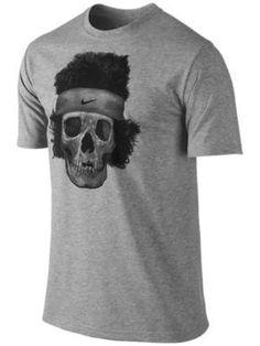 Perfect for Halloween! Nike John McEnroe Legends Never Die T-Shirt-Gray-Large #Nike #ShirtsTops