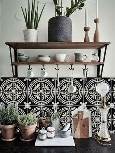 Barolo italienischen schwarz und Creme Tapete von QUADROSTYLE