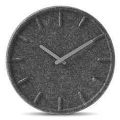 Felt Wall Clock by LEFF amsterdam at Dotmaison