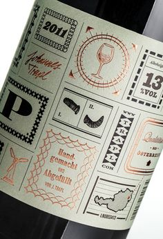 #packaging #label #design #typography