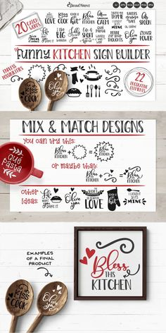 Kitchen SVG Bundle | Funny Kitchen Sign Builder   #kitchensvg #svgbundle #kitchenbundle #sublimation #kitchencutfiles #funnysvg #cutfiles #dxf #bundle