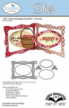 Elizabeth Craft Designs - Oval Landscape Accordion