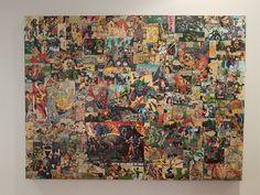 Comic book canvas