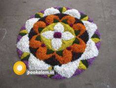 How to conduct a fun and exciting Theme party on Floral Theme. Find details about decoration, dress code and theme based party games. Rangoli Designs Latest, Latest Rangoli, Rangoli Designs Flower, Rangoli Ideas, Colorful Rangoli Designs, Rangoli Designs Diwali, Flower Rangoli, Beautiful Rangoli Designs, Diwali Rangoli