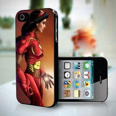 Jasmine Disney Princess Avengers Iron Man design for iPhone 5 case