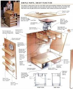 968 router table lift plans router tips jigs and fixtures tools 2090 ultimate router table plans keyboard keysfo Images