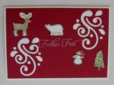 """""""Weiße Weihnacht"""" mit Swirls   http://eris-kreativwerkstatt.blogspot.de/2014/12/weie-weihnacht-mit-swirls.html"""