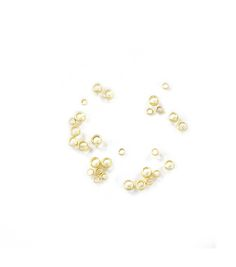 Blue Moon Findings Crimp Bead Metal Multi Pack 2 and 3mm Matte Gold