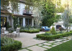 Gabriela Yariv's landscape for a Wallace Neff home in Pasadena - My Home As Art