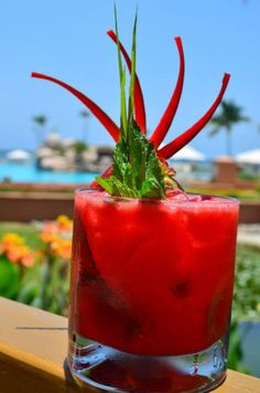 Tropical #Cocktail at CasaMagna Puerto Vallarta