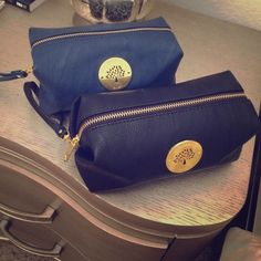 Stunning Mulberry makeup bag 2 colors available- please indicate which one you want:) Mulberry Bags Cosmetic Bags & Cases