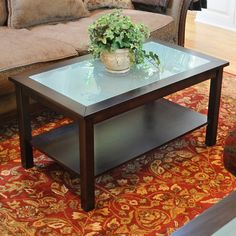 Found it at Wayfair.ca - Bay Shore Coffee Table with Glass Top