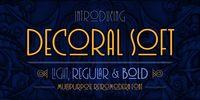 Decoral Soft - Webfont & Desktop font « MyFonts
