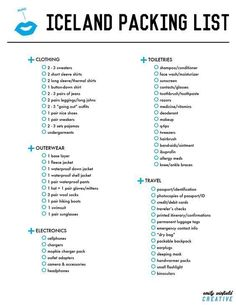 THE ULTIMATE Iceland Packing List, for around an trip. I made this for our Honeymoon in April, 2015 THE ULTIMATE Iceland Packing List, for around an trip. I made this for our Honeymoon in April, 2015 Iceland Adventures, Iceland Travel Tips, Cheap Hobbies, Rc Hobbies, Photos Voyages, I Want To Travel, Future Travel, Day Trip, Trip Planning