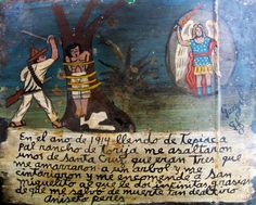 Retablos — 1914, on my way from Tepiac to the ranch in...