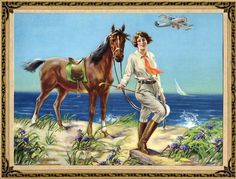 Old Postcard from Galveston,Texas.
