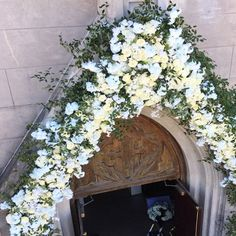 Behind the scenes of the installation of the grand entrance arch at the beautiful #RampartChurch /  Monastery (@sidneytorresiv) in New Orleans. . . . #winkdesignandevents #wedding #decor #weddingreception #weddingplanner #eventprofs #weddingdesigner #floral #tablescape  #fabulous #justmarried #bride #followyournola #nola #neworleans #nolawedding #luxurywedding #southernwedding #neworleanswedding #weddingideas #weddingflowers #eventstyling #weddingday #weddinginspiration  #weddingdecor…