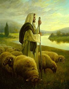 greg olsen art | Greg Olsen - Good Shepherd, The Paper - View Greg Olsen Art Gallery ...