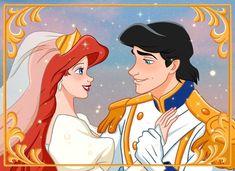 Disney Pics, Disney Couples, Disney Pictures, Disney Love, Disney Art, Disney Princess Drawings, Disney Princess Art, Mermaid Princess, Disney Princesses