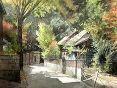 Takashi Akasaka watercolor