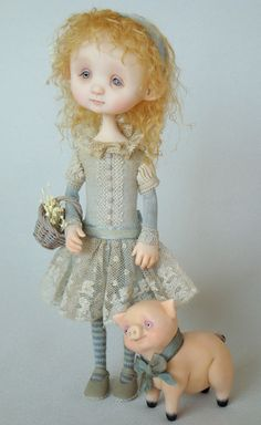 """I know i cannot make these dolls but they are soooo cute :) """"Katy"""" by Ana Salvador"""
