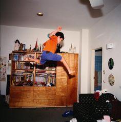 Joe flying © Nan Goldin